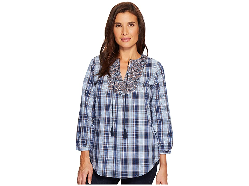 Roper 1524 Vintage Plaid (Blue) Women