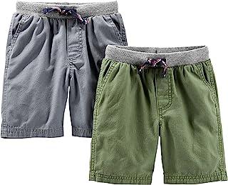 Simple Joys by Carter's - Pantaloncini da bambino, confezione da 2