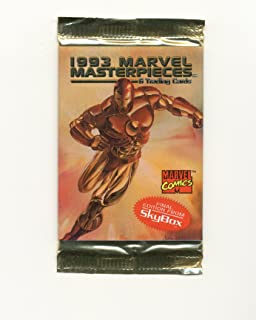 1993 marvel masterpieces trading cards