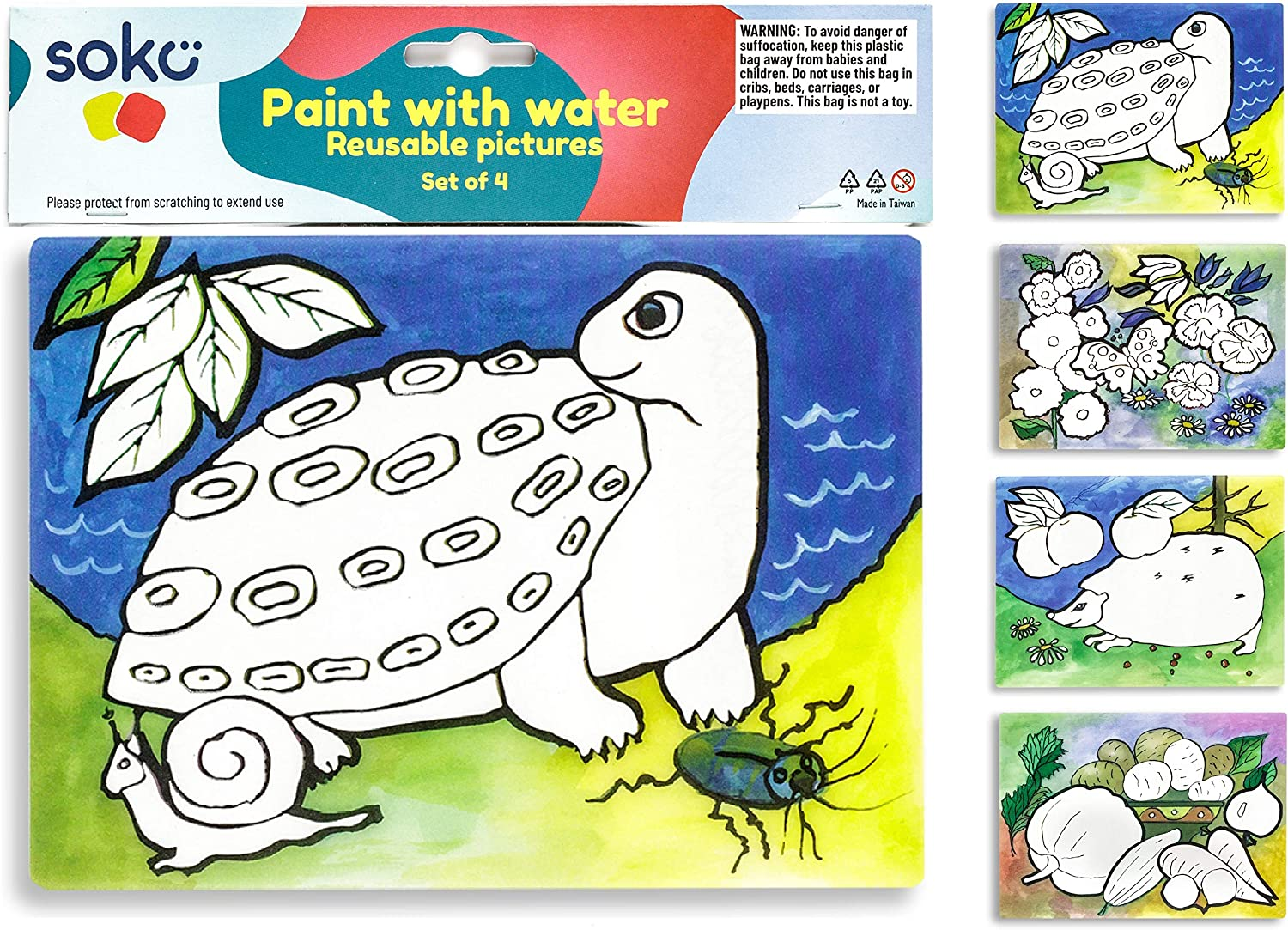 Paint with Memphis Mall Water for Pag Toddlers - Long Beach Mall Coloring