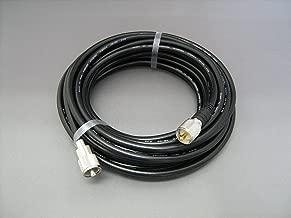 第一電波工業 ダイヤモンド  固定局用5D-2Vケーブルセット 10m MP-MPコネクタ(片側脱着タイプ) 5D10MB