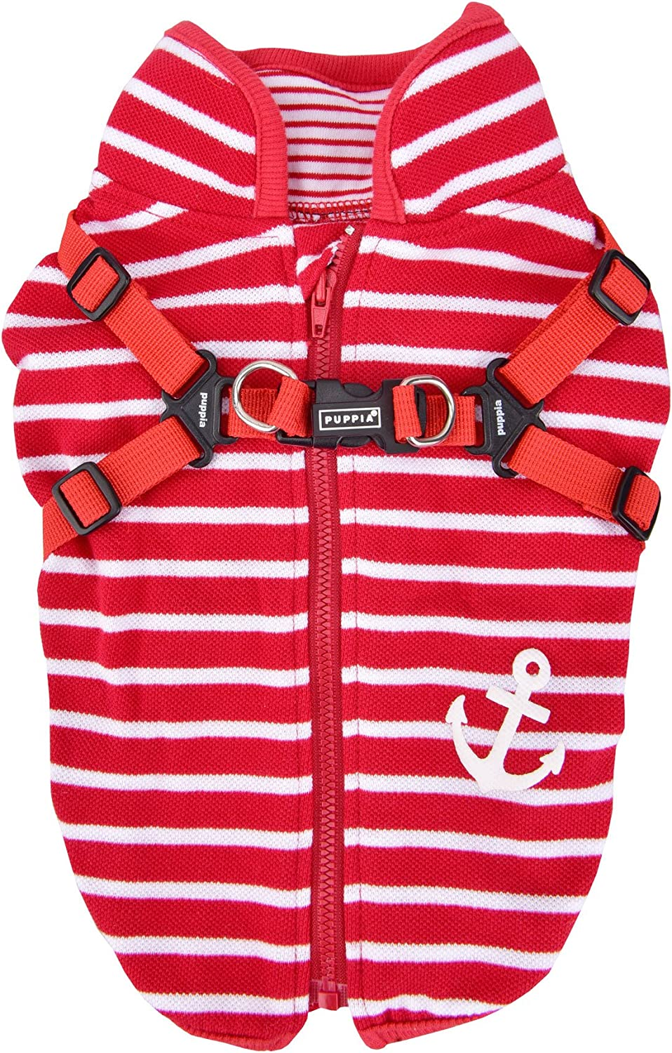 2aa83198821b Clancy Puppia Vest PASAVT1611RDS Small Harness, Integrated with ...