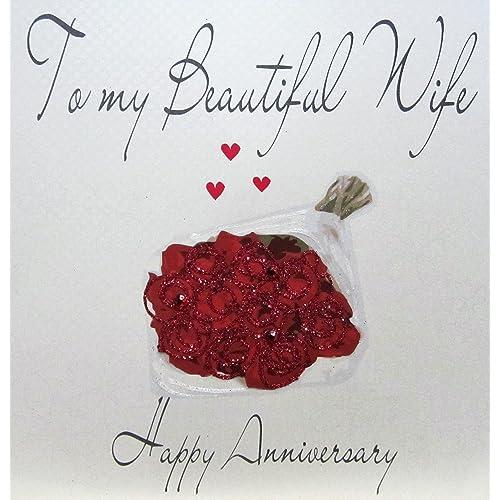 Wedding Anniversary Images.Wedding Anniversary Card Amazon Co Uk