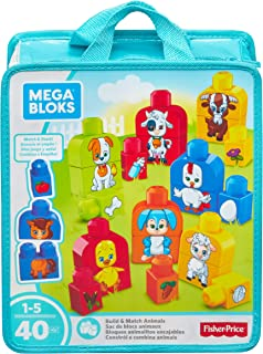 Mega Bloks Build and Match Animals Playset