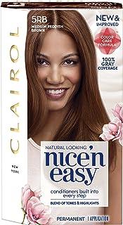 Sponsored Ad - Clairol Nice'n Easy Permanent Hair Color, 5RB Medium Reddish Brown, Pack of 1
