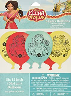 Latex Balloons | Disney Elena of Avalor Collection | Party Accessory