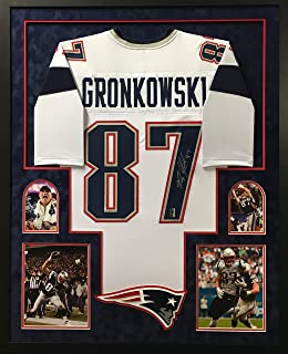patriots framed jersey