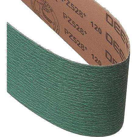 Aluminum Oxide 36 Length Fine Grade Cloth Backing Brown VSM 113954 Abrasive Belt Pack of 10 220 Grit 4 Width