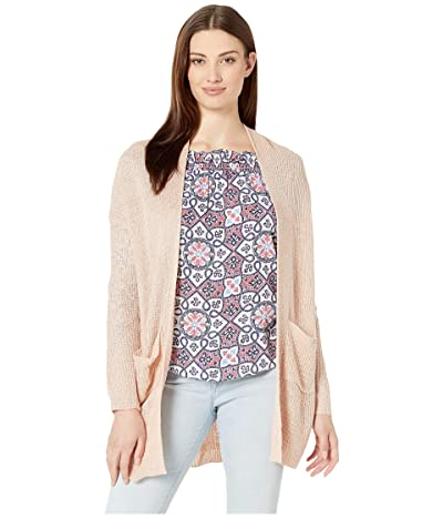American Rose Hope Pocketed Cardigan (Tan) Women