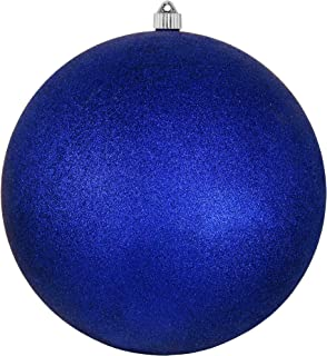 Christmas by Krebs KBX40495 Patriotic Decoration-Commercial grade, Water-Resistant 4th of July/Memorial Day/Military Celebration, 12-Inch, Dark Blue Glitter