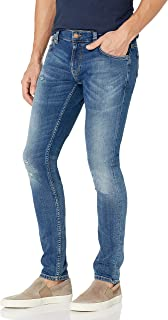 Nudie Unisex Tight Terry Pale Gold Stitch Jeans