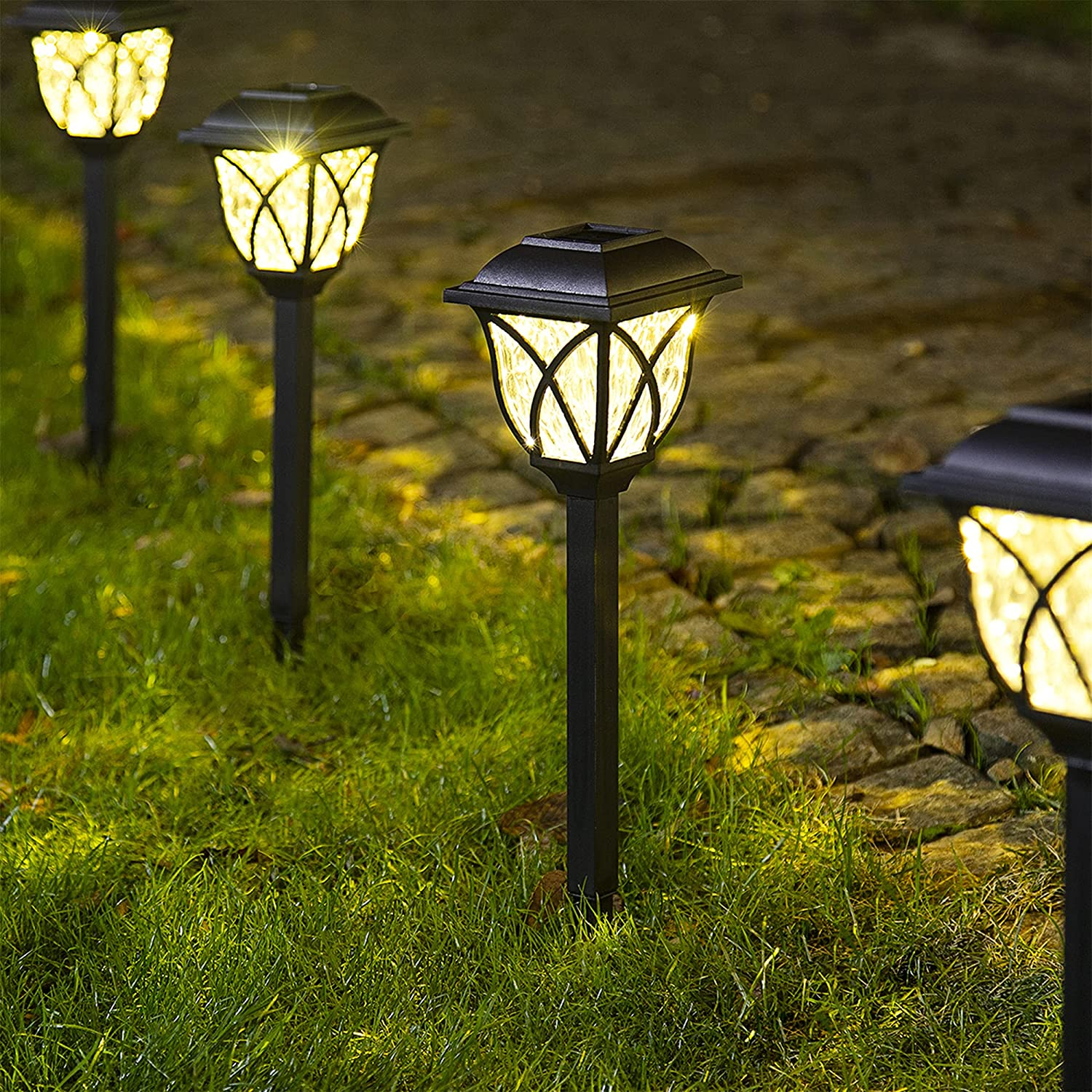Solpex Solar Pathway Lights Wa Popular brand Max 68% OFF in the world Garden Outdoor LED