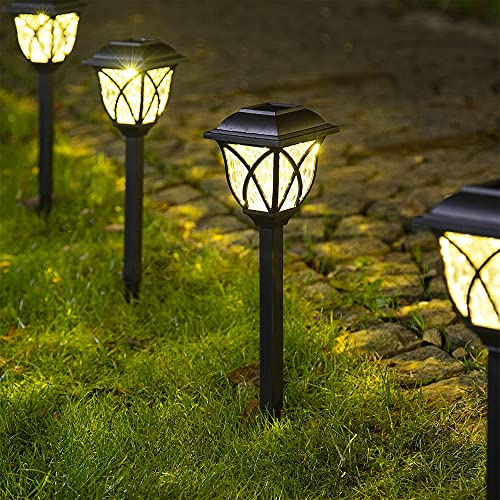 wholesale Solpex Solar Pathway Lights Outdoor, LED Solar Garden Lights, Waterproof Solar online Landscape Lights for Lawn, Patio, Yard, Garden, Walkway. (6 2021 Pack) online