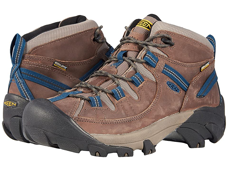 Keen Targhee II Mid Waterproof (Bungee Cord/Legion Blue) Men