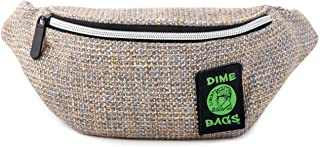 Dime Bags Organic Hemp Stash Pack Smell Proof Waist Pack (Sand)