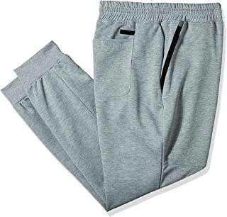 Southpole mens Tech Fleece Jogger Pants with Zipper Details Sweatpants