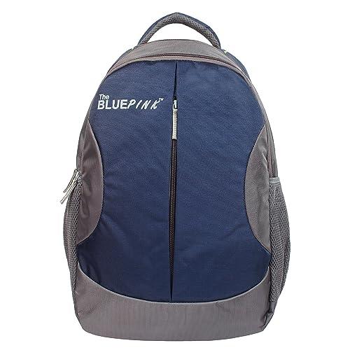 Dussledorf Leonardo 22 Liters Blue and Grey Laptop Backpack (LEO-2318)