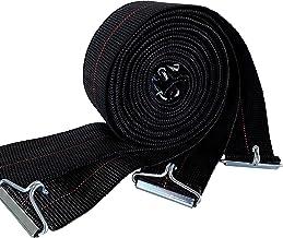 IPEA Elastische riemen voor bedden van 190 tot 200 cm – 4 stuks – elastisch touw met haak van ijzer voor bedden met latten...