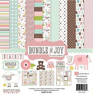 Echo Park Paper Paper Echo Park Collection Kit 12-inch x 12-inch, Bundle of Joy Girl