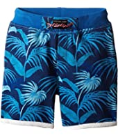 Little Marc Jacobs - Fleece Shorts Jungle Print (Toddler/Little Kids)