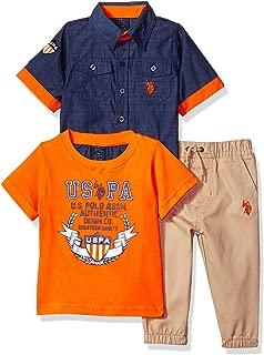 U.S. Polo Assn. Baby Boy's Short Sleeve Shirt, T-Shirt...