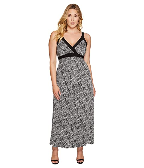 Karen Kane Plus Plus Size Banded Maxi Dress At 6pm