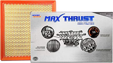 Spearhead MAX THRUST Performance Engine Air Filter For Low & High Mileage Vehicles - Increases Power & Improves Acceleration (MT-440)