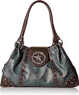 Blazin Roxx Women's Blue Star Shoulder Bag - N7515827