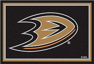FANMATS NHL Anaheim Ducks Nylon Face 5X8 Plush Rug