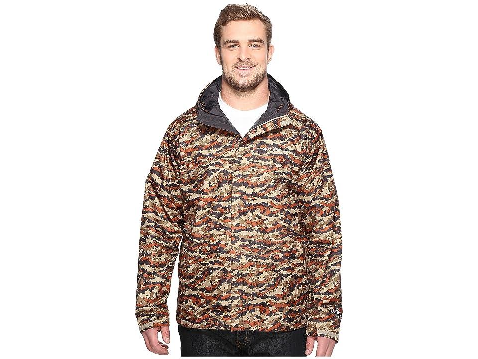 Columbia Big Tall Watertighttm Printed Jacket (Rustic Brown Camo) Men