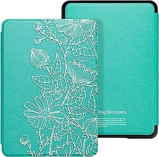 WALNEW AMAZON 2018 Kindle Paperwhite第十世代カバー ケース 2018キンドルペーパーホワイト専用ケース 2018 Kindle Paperwhite Newモデル(第10世代)に適応 オードスリープ マグネット付き