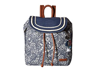 Sakroots Artist Circle Mellie Backpack (Navy Spirit Desert) Backpack Bags