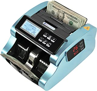 IDLETECH BC-1100 Money Counter Machine with Counterfeit Detection, Automatic Money Counting, Money Counter. UV/MG/IR/DBL/H...