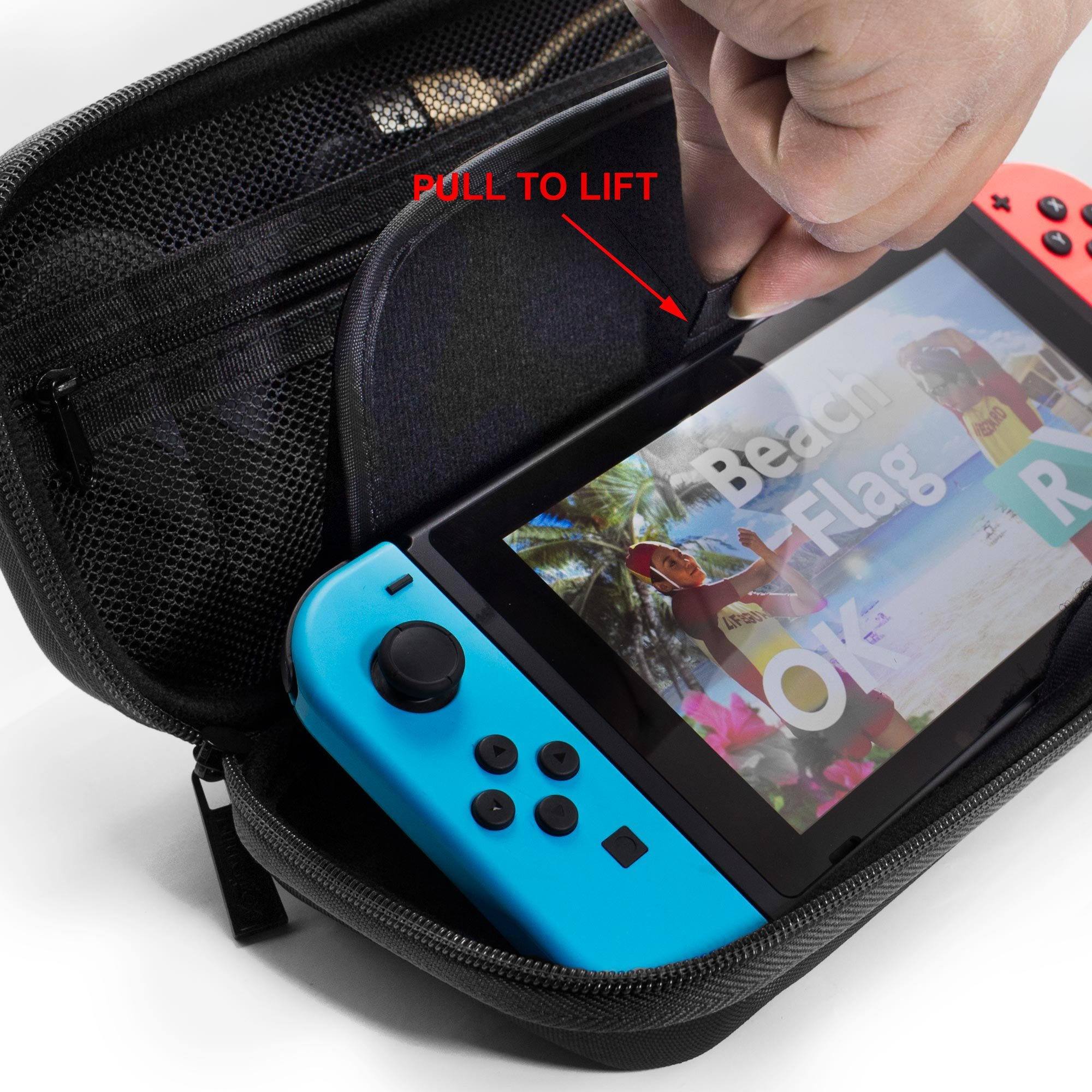 ButterFox Deluxe Nintendo Switch Travel Bag Case with Storage Room ...