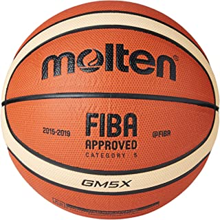 MOLTEN BGMX Parallel Pebble - Pelota de Baloncesto, Color Naranja ...