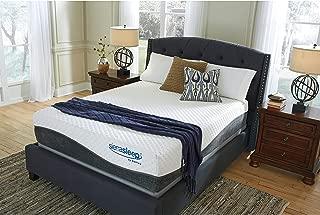 Ashley Furniture Signature Design - Sierra Sleep - Mygel Hybrid 1300 Mattress - Traditional Inner Spring Queen Size Mattress - White