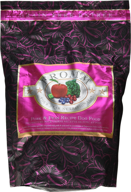 Fromm Sale Max 89% OFF FourStar Dog Food Pork 4 Peas lb