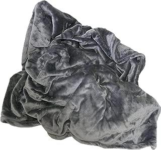 Berkshire VelvetLoft Throw Blanket, Grey