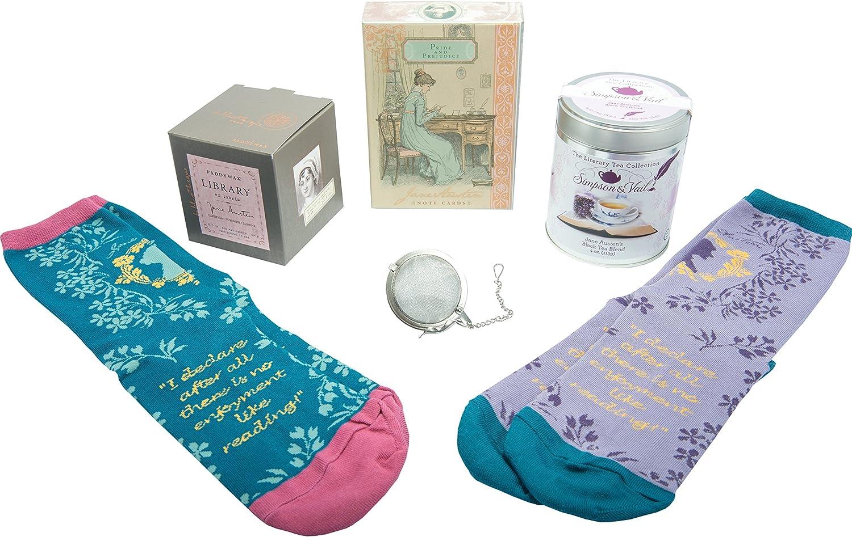 Jane Austen Gifts Set – Candle Socks J Time sale cheap