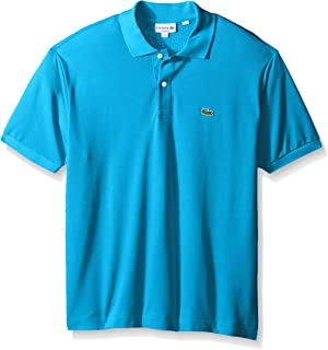 a3b96457af3e Lacoste Men s Short Sleeve Pique L.12.12 Classic Fit Polo Shirt