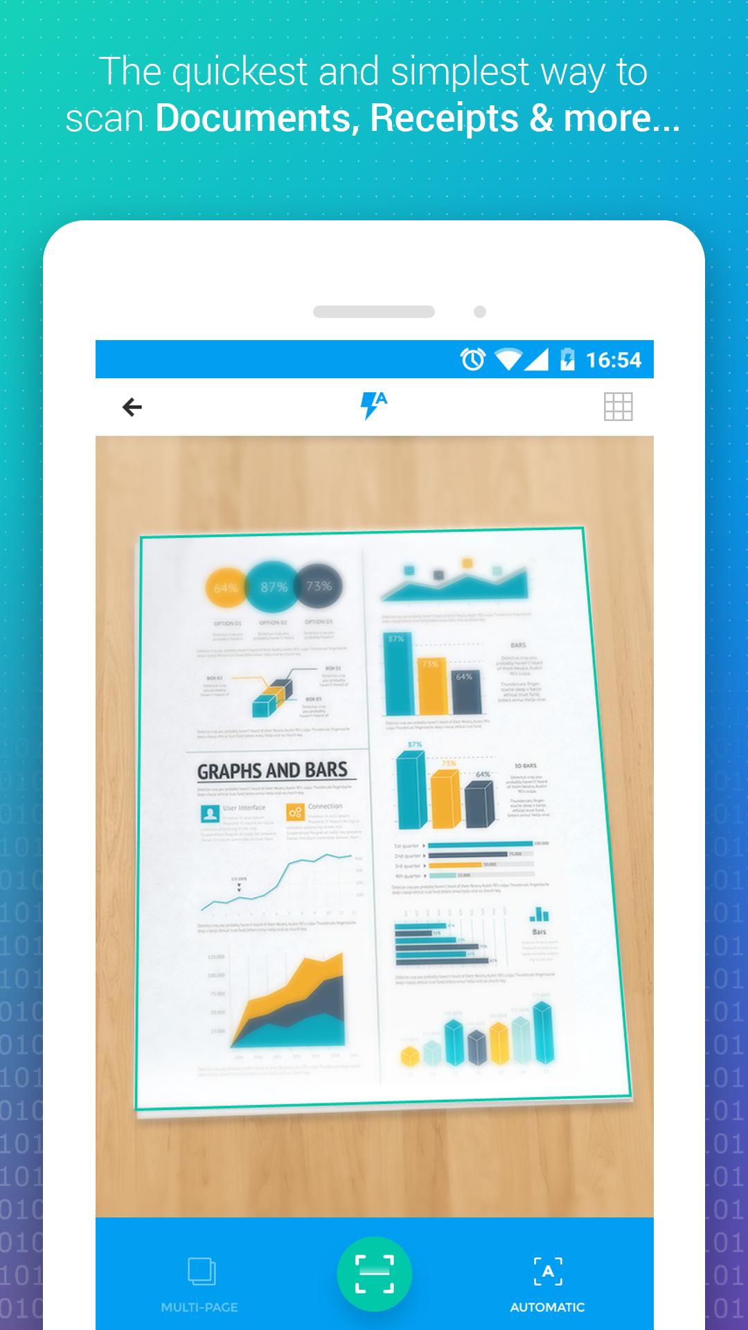 Pocket Scanner - PDF Document Scanner App