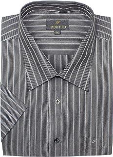 Mens Formal Shirts Cotton Short Sleeves Size 4XL Regular Fit,MENS SHIRTS