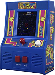 Basic Fun Arcade Classics – Ms Pac-Man Retro Mini Arcade Game