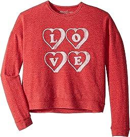 Super Soft Haaci Love Pullover (Big Kids)