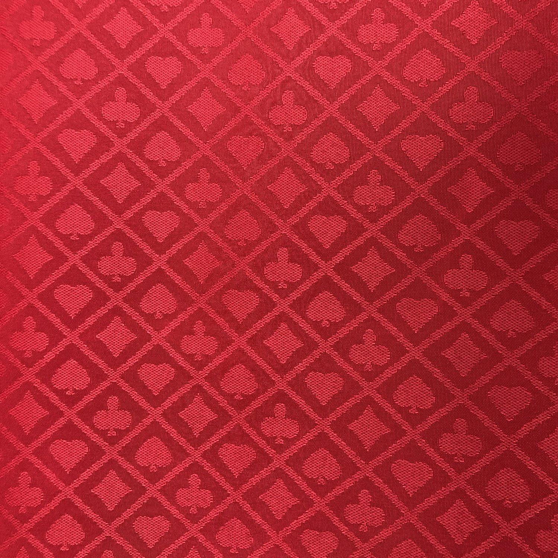 Yuanhe 274 x 152 cm Abschnitt f/ür Poker-Tischdecke