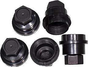 APDTY 722726 Wheel Lug Nut Screw On Covers (Qty-5)