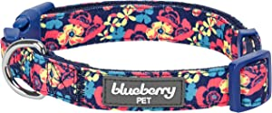 Blueberry Pet 9 Patterns Made Well Floral Dog Collars