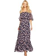 Donna Morgan - Off Shoulder Chiffon Maxi
