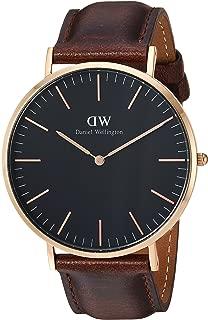 Daniel Wellington Men's Watch Classic Black Bristol 40mm