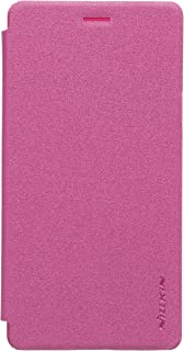 Nillkin Sparkle Leather Case for OPPO Mirror 5/5S (A51) - Red (Retail Packaging)